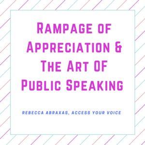 Rebecca ABraxas, Access Your Voice