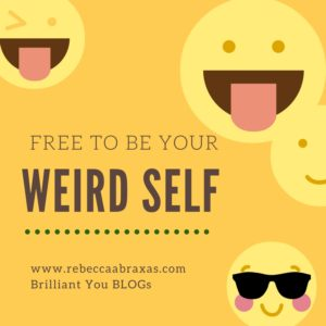 free to be your weird self