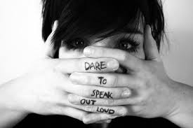 Dare to speak out loud
