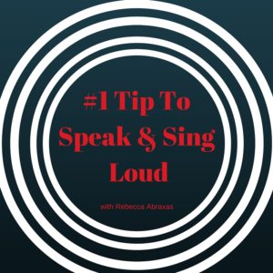 #1 Tip To Speak & Sing with a Loud Volume